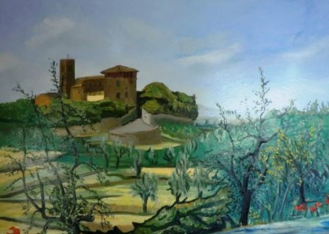 Montevettolini Painting
