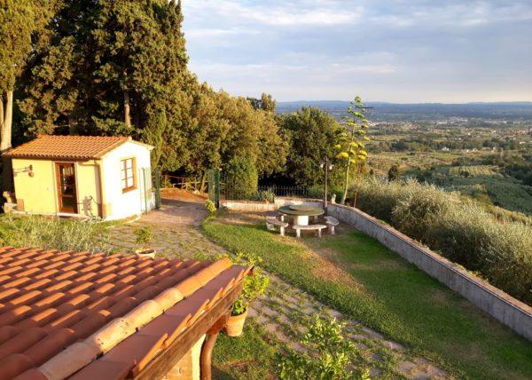 vue du balcon ouest